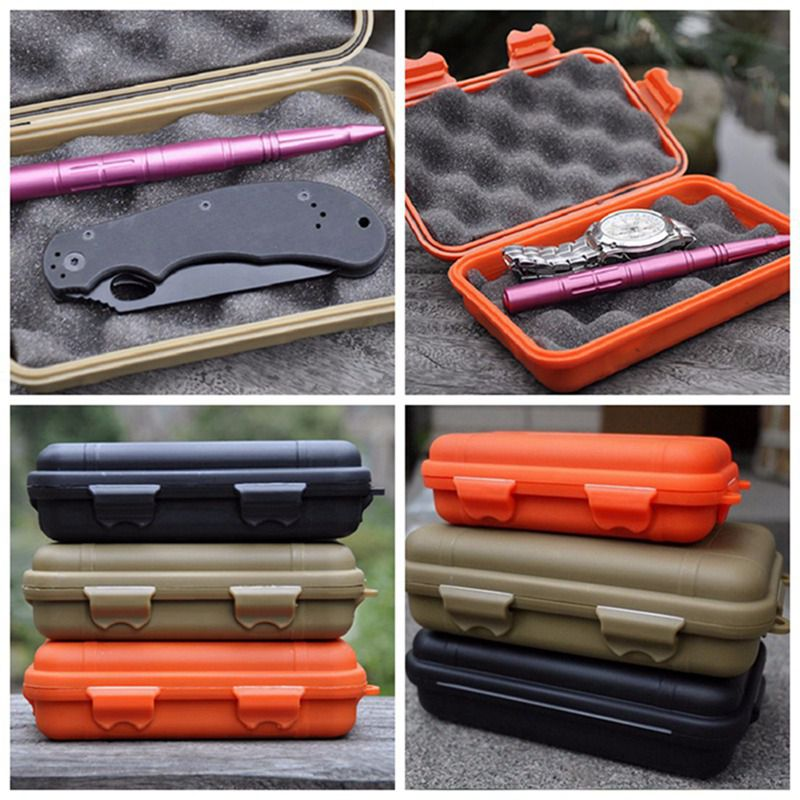 Image 5 - Outdoor Survival Storage Case Box Kayak Storage Camp Fish Trunk Airtight Container Carry Travel Seal Case Bushcraft Survive Kit-in Safety & Survival from Sports & Entertainment