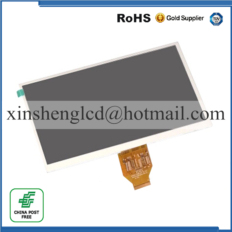 10.1 inch Tablet PC lcd display kd101n7-40nb-a16 V0 FPC 40Pins TFT LCD Screen Matrix Replacement Parts Free Shipping