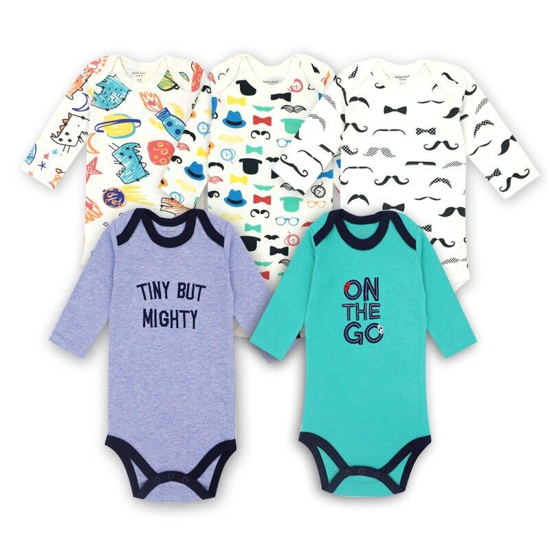 Noworodek chłopców Ubrania 100% bawełna Dziecko z długim rękawem - Odzież dla niemowląt - Zdjęcie 1