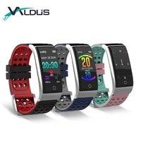 ECG PPG Smart Bracelet Fitness Tracker IP67 Waterproof Smart Watch Blood Pressure Blood Oxygen Monitor Wristband E08