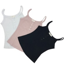 New Tank Top Summer Sexy Slim Solid Cotton SI01
