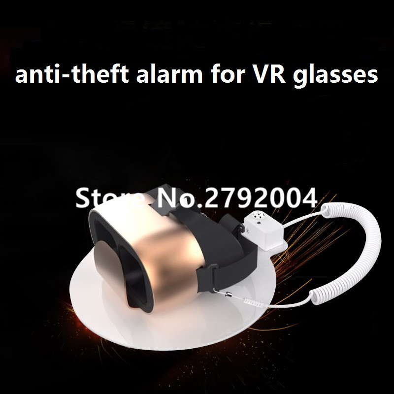 Electronics security display alarm stand VR glasses anti-theft device camera holder for Phone,PC,Watch,earphone,other exhibit wholesale price mobile phone anti theft alarm display stand with charging for exhibition