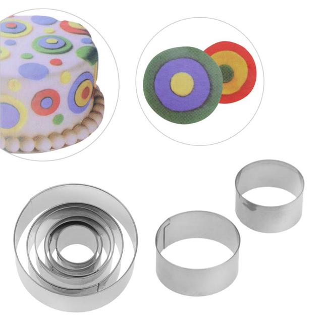 Cake Circular Shaped Molds