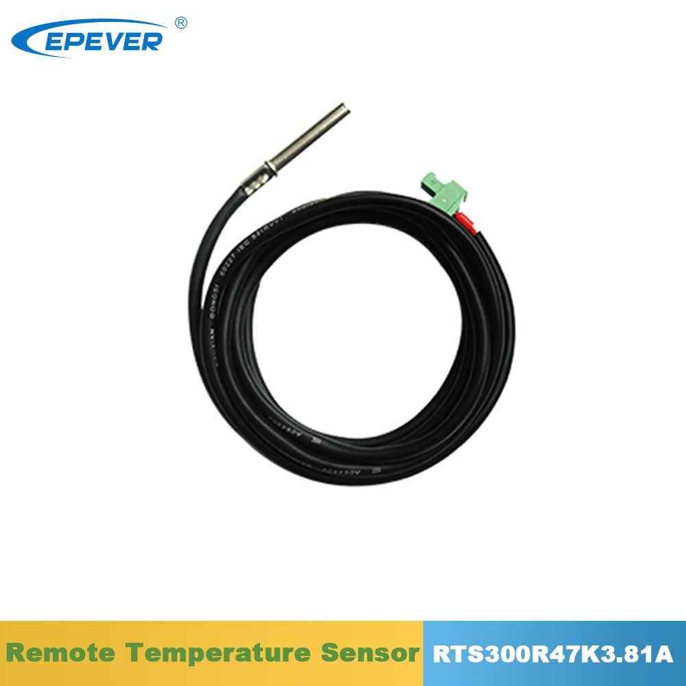 EPever zdalnego czujnika temperatury RTS300R47K3.81A dla EPever EPsolar Tracer na Tracer mld TRIRON XTRA ViewStar-AU kontroler słoneczny