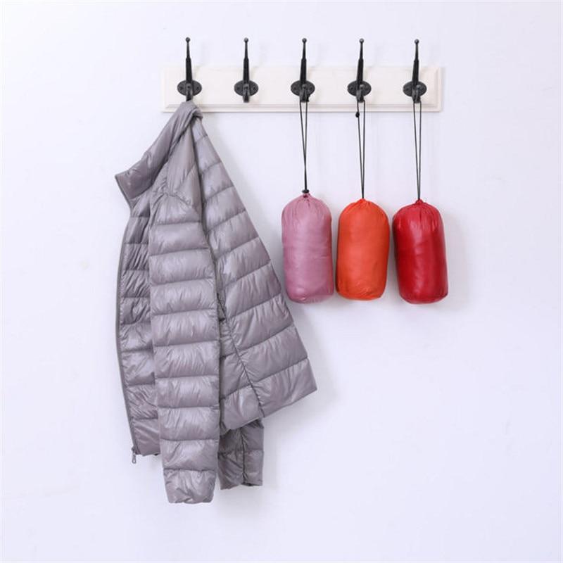 Winter Women Ultra Light 90% Duck   Down   Jacket Female Solid Short Warm Slim White   Down     Coat   Jackets Portable Outerwear Ds50276
