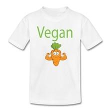 Vegan Power Carrot kids t-shirt