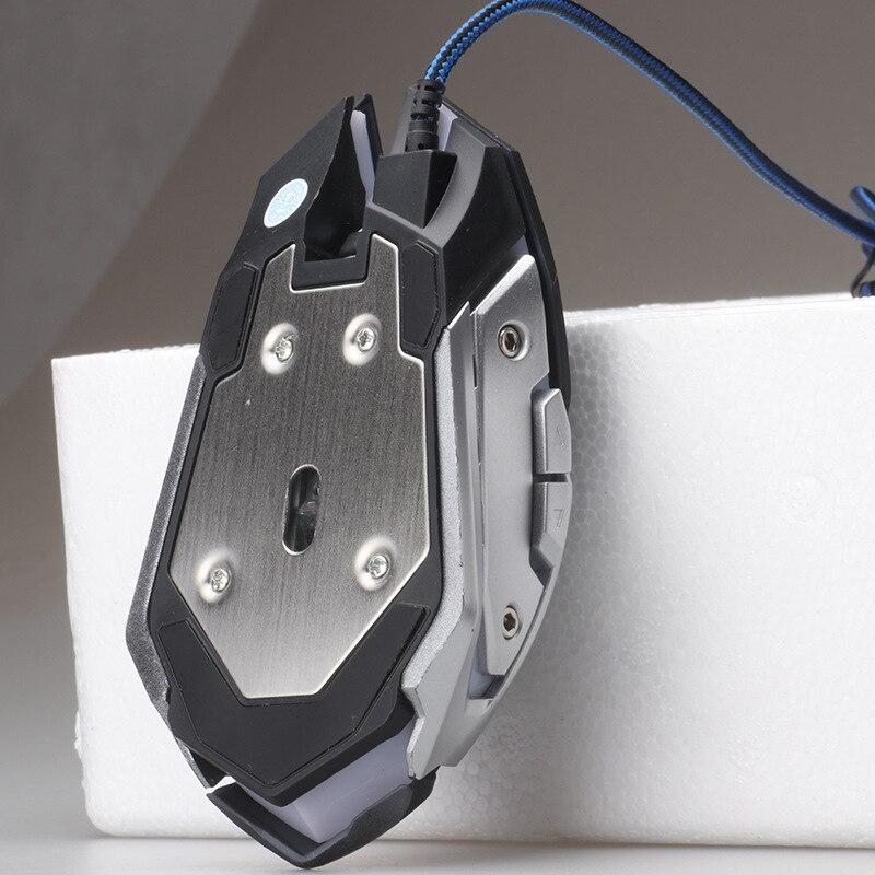 Профессиональный 3200 Точек на дюйм beitas x10 USB Gaming Мышь проводной Игры Мыши компьютерные с 3 цвета LED Подсветка эргономичный Дизайн для Pro Gamer