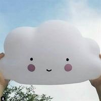 Novelty Cloud Emitting Smile Face Led Night Light Creative Lamps Childrens Bedroom Nursery Mini Lamps Kids