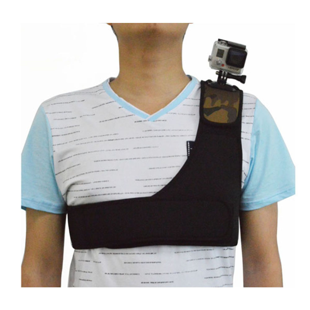 Shoulder Harness Strap Belt Mount for GoPro 4S/4/3+/3/2/1  / it suits SONY, Xiaomi Camera + With Screw Gopro Accessories