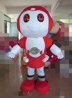 High quality head adult robot led mascot costume robot led costume for sale