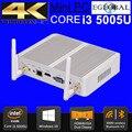 Cheapest broadwell i5 i3 mini pc de windows 10 intel ordenador barebone Core i3 5005U 2 GHz HD 5500 Gráficos 4 K HTPC wifi HDMI VGA