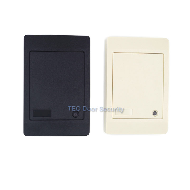 RFID Reader Without Keypad WG26/34 Access Control RFID card reader RF EM Door Access for home security wg26 34 em id card reader 125khz door access control system with keypad for rfid card waterproof f1710a