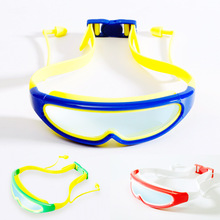 Big Frame Professional Swimming Glasses Children Anti-Fog Kids Waterproof Swimming Goggles Boys Girls Child Swim Mask Eyewear