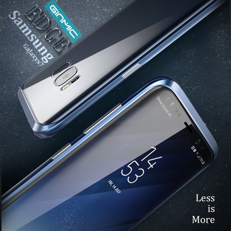 For Sumsung S7 Bumper aviation aluminum Package edge design Small and light with the texture whole curve fits perfectly