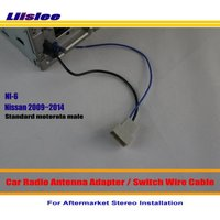 For Nissan G37 370Z Altima Armada Cabstar Cube Car Radio Antenna Adapter Aftermarket Stereo Antenna Wire