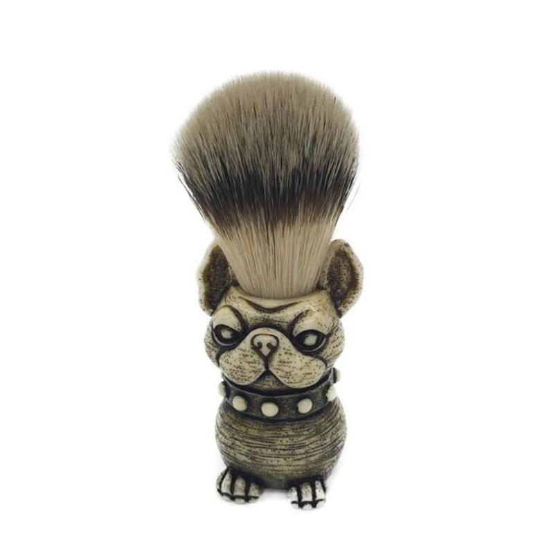 beard brushes skull head badger hair brush man shaving brush makeup