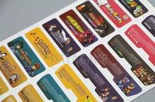 Lableการออกแบบของลูกค้าสำหรับNintendo Gameboy Advanceป้ายสติกเกอร์สำหรับคอนโซลGBAกลับ: 140ชิ้น/ล็อต = 5ชุด