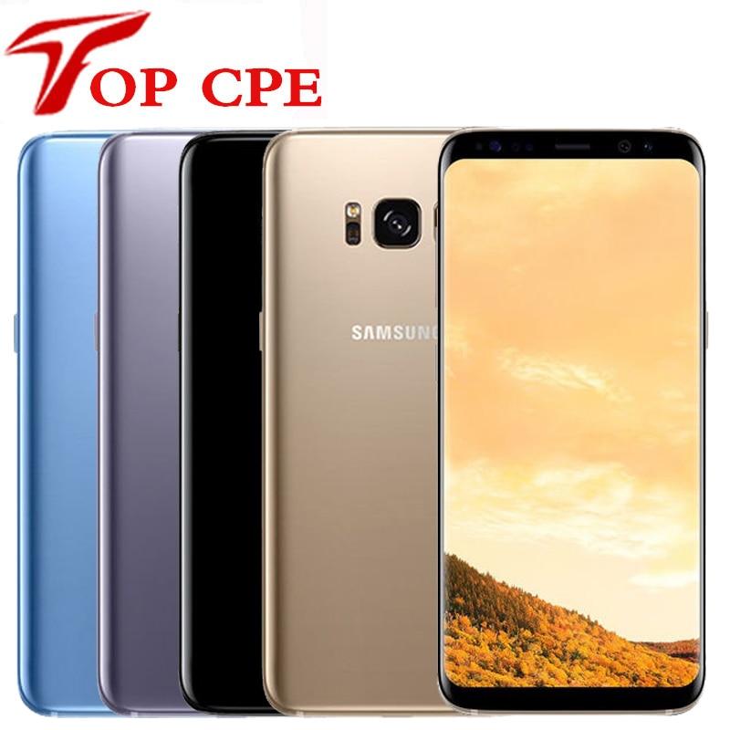 "Original Samsung Galaxy S8 G950F G950F G950U 4G LTE Octa core 4GB RAM 64GB ROM 5.8"" 12MP Fingerprint Android Mobile cell phone(China)"