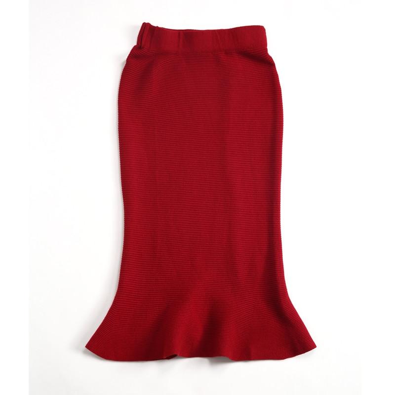 Bureau Costumes Sexy À Pièce Work 2 Ensemble Élégant D'affaires Chandail Wear Costume Tricoté Rg Gray Femmes Gris Volants Et Jupe red Rouge q6v7xHw