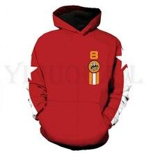 Anime Tekken 7 Sweatshirt Men and Women Zipper Hoodies  Slim Bob 3d Print Hooded Jacket for Boys Costume Harajuku Streetwear