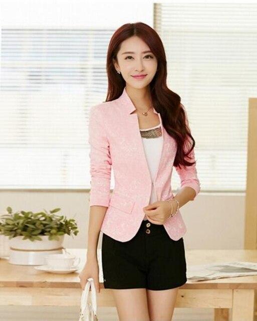2016 autumn new stand collar jacket female slim elegant women's jacket Fashion women coat jacket