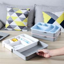 1 хранилище ПК Коробка Выдвижная композиция пространства для хранения столовой Посуды Лоток для спальни
