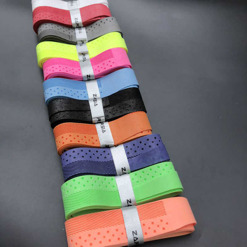 1 pc Top Quality ZARSIA Badminton Rackets Over GripsWraps Anti-skid Sweat Absorbed Designer Tennis Racquet soft dry feel grip