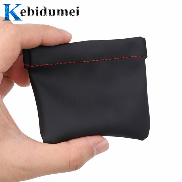 kebidumei Earphone Bag Senfer PU Leather Earphone Case Headset Carrying Pouch Store Headphone Package Headset Accessorie