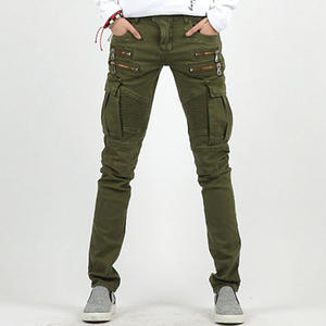 Yifsion Mens Punk Pants Slim Fit Trousers Skinny