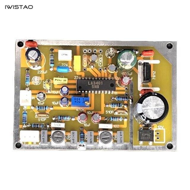 IWISTAO FM simple carte de décodage Mono à stéréo LA3401 pour amplificateur de fréquence intermédiaire HIFI Audio bricolage livraison gratuite