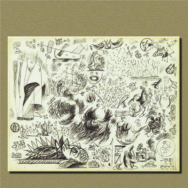 Online get cheap jackson pollock art for Real art for sale