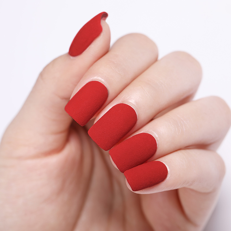 Image 5 - NICOLE DIARY 10g Red Series Dipping Nail Powder Gradient Shinning Glitter Natural Dry Manicure Art Dust Chrome Decoration-in Nail Glitter from Beauty & Health
