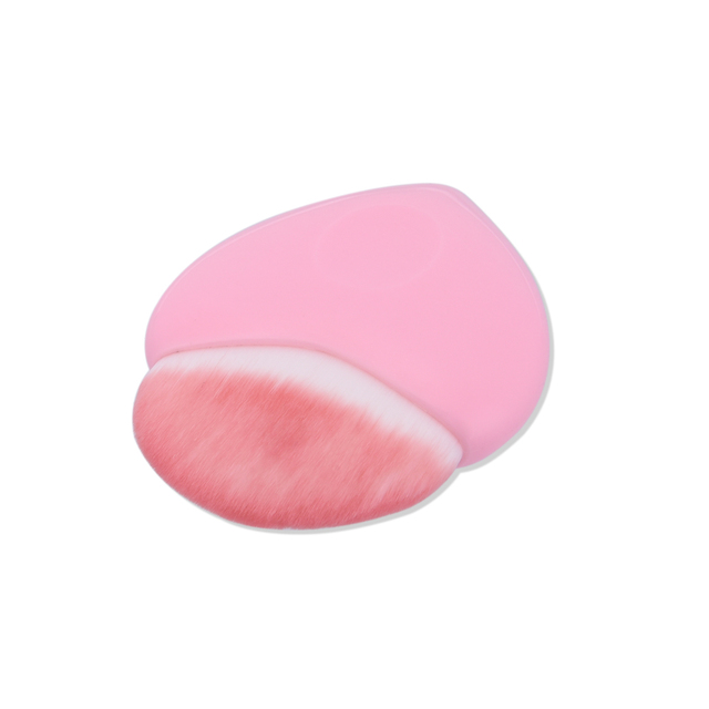2017 1PC New Fashion Heart Shaped Blush Powder Brush Pro Cosmetic Foundation Brushes Lovely Pink Makeup Tool Beauty Hot Makeup Brushes