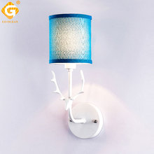Creative Bedside Wall Lamp Decorative Wall Lights For Bedroom Stair Mounted Night Lighting LED E27 Blubs Sconces Hotel Room