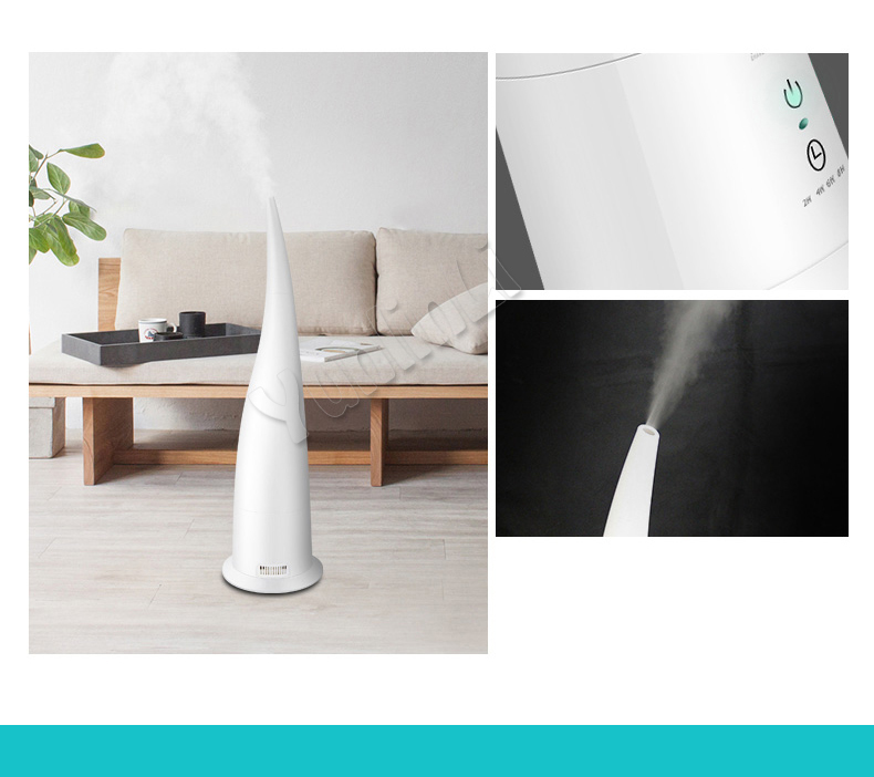 3.6L Electric Air Humidifier Household Aroma Diffuser Air Aromatherapy Machine Mist Maker With Remote Control And Timer HQ-JS400