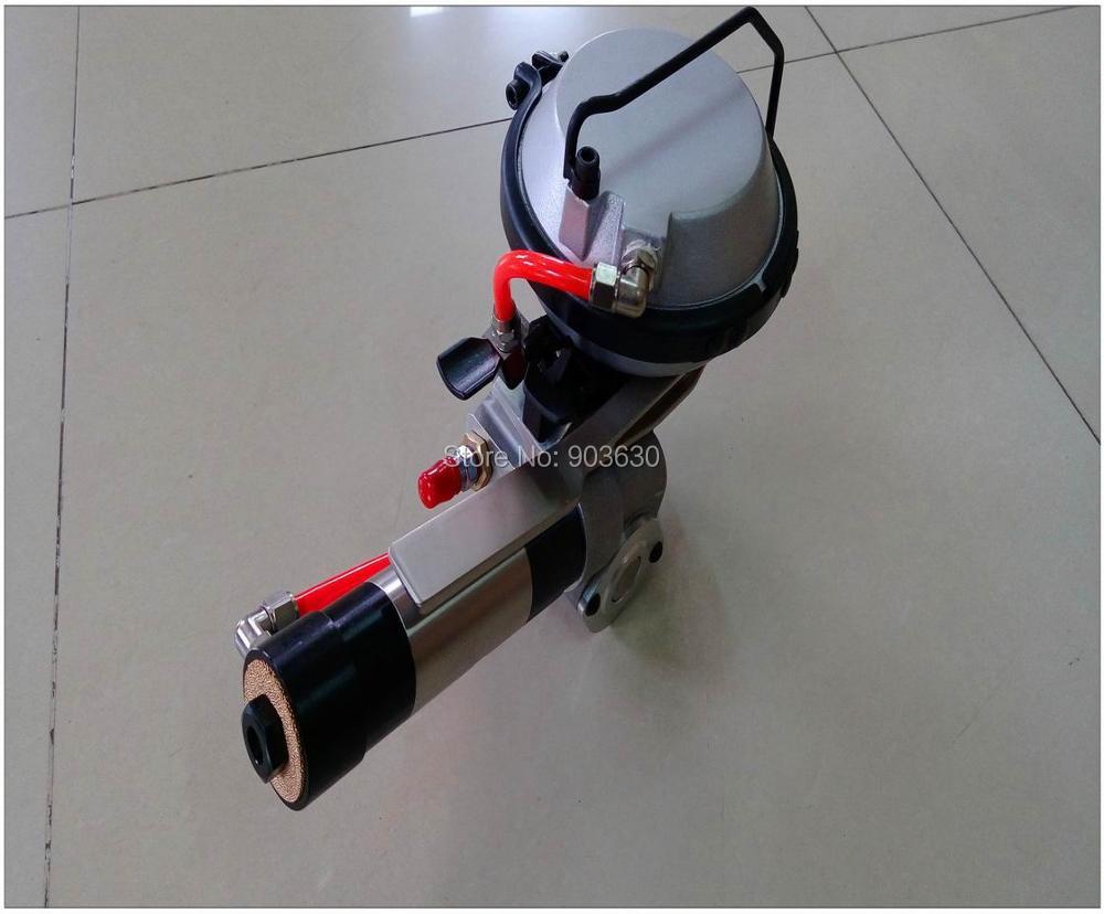 KZ-19/16 kombinált pneumatikus acél hevederes gép, fém csomagoló - Elektromos kéziszerszámok - Fénykép 2