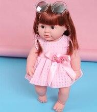 Muñeca Pelirroja con Vestido  y Gafas de Sol