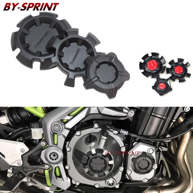 Z900 moto ABS accessoires noir moteur Stator couvercle moteur housse de protection pour kawasaki z900 Z 900 2017 2018Z900 moto ABS accessoires noir moteur Stator couvercle moteur housse de protection pour kawasaki z900 Z 900 2017 2018