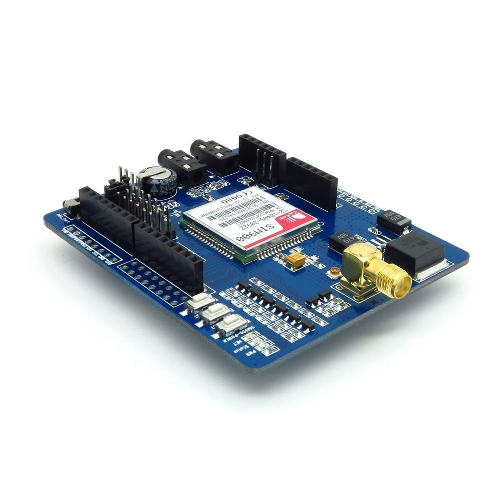 GSM / GPRS SIM900 Module Expansion Board Shield With Antenna For Arduino Mega-in Integrated Circuits from Electronic Components & Supplies    3