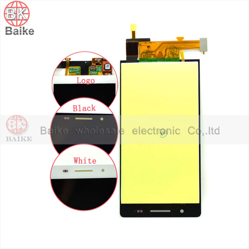 P6 Lcd Display for HuaWei Ascend P6 LCD Screen with Touch Screen Digitizer Assembly 100% Original