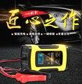 12 v 6A Smart Batterie Ladegerät US/EU/AU Stecker Für Auto Motorrad LCD Intelligente Display 6- falten Schutz Feuer Widerstand