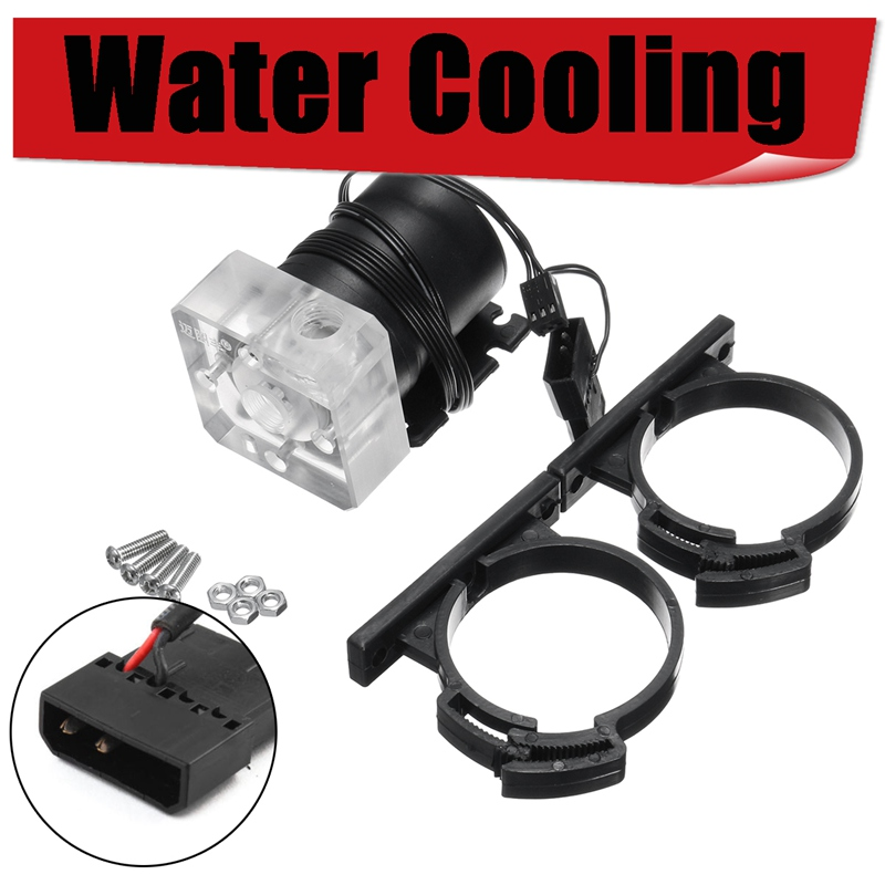 syscooling new design water cooling kits for computer case high performance New DC 12V G1/4 Low Noise CPU Cooling Water Pump For Desktop PC Computer Cool System High Quality Water Cooling Cooler For CPU
