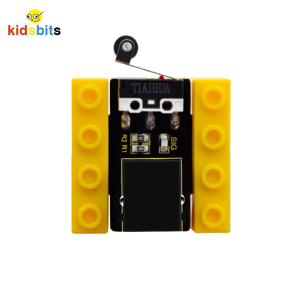 Kidsbits Blocks Coding Crash Sensor  For Arduino STEM