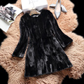 Pieces mink coat 2016 new women mink coat water mink in the long section