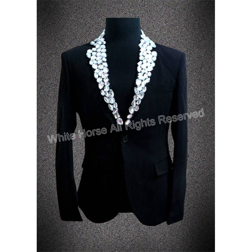 buy men suit jacket veste homme costume beaded black men blazer designs costume. Black Bedroom Furniture Sets. Home Design Ideas