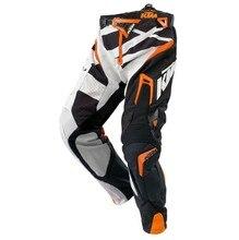 Бесплатная доставка Высокое качество Мужские KTM Racetech брюки Мотоцикл Байк MTB DH MX для верховой езды брюки KTM мотокроссу брюки