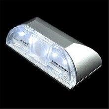 Smart Infrared IR Wireless Auto Sensor Motion Detector Keyhole 4 LED Light Lamp