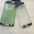 Передняя ЖК-Экран Стеклянный Объектив Внешний Стекла Ремонт Замена Для Samsung S6 Edge G925 SM-G925V SM-g925F Наклейки +