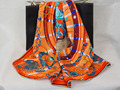 [25% OFF] 204005 4 colors Elegant Pure silk wrap Women's  big Square Silk Scarf, 100% Silk square silk scarves high quality