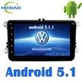 Android 5.1 Автомобильный радиоприемник 2 din DVD Gps Плеер универсальный Навигация Для VW/Volkswagen/POLO/PASSAT/Golf/Skoda/Быстрое/Seat Wifi FM/AM